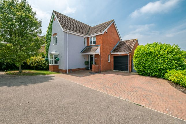 Thumbnail Detached house for sale in Guildhall Road, Worlingham, Beccles