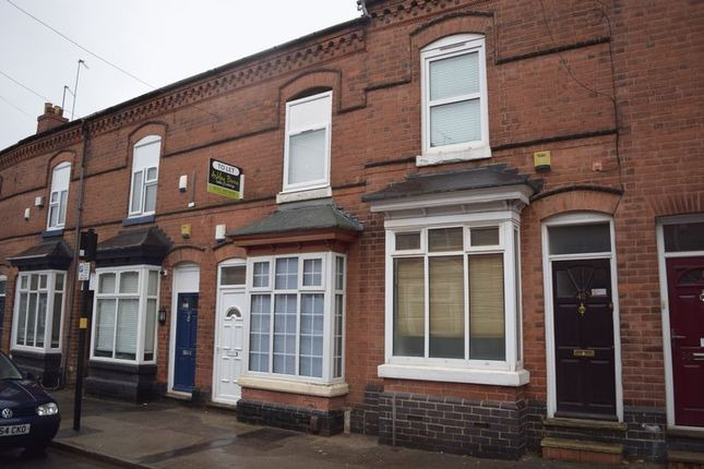 Thumbnail Terraced house to rent in North Road, Edgbaston, Birmingham