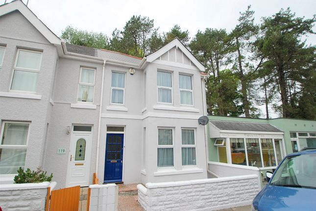 Thumbnail Terraced house to rent in Trelawney Road, Peverell, Plymouth