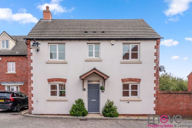 Thumbnail Detached house for sale in Ferndale Close, Longlevens, Gloucester
