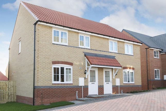"""Thumbnail Semi-detached house for sale in """"Finchley"""" at Bawtry Road, Bessacarr, Doncaster"""