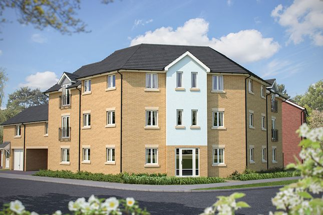 "Thumbnail Flat for sale in ""Lucan House"" at Poethlyn Drive, Costessey, Norwich"