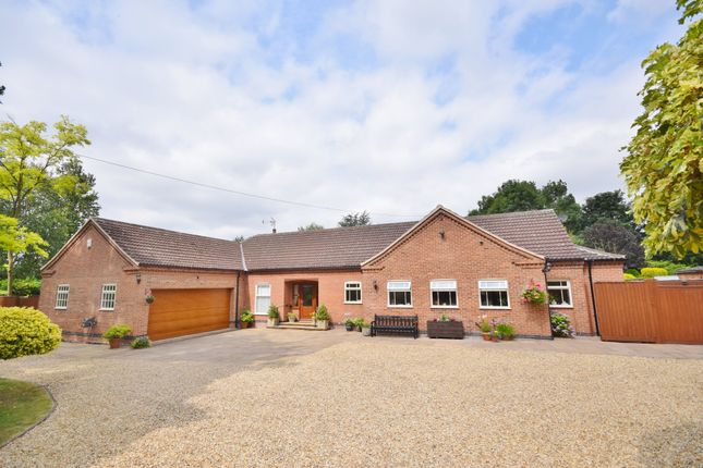 Thumbnail Detached bungalow for sale in Church Lane, Muston