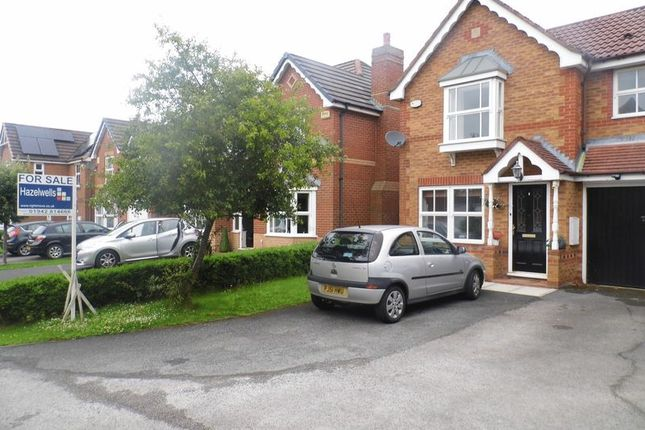 Thumbnail Semi-detached house for sale in St. Andrews Close, Euxton, Chorley