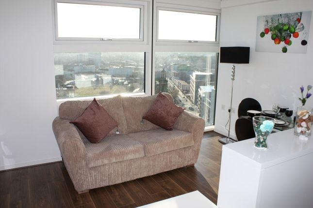 Studio to rent in The Cube, 197 Wharfside Street, Birmingham