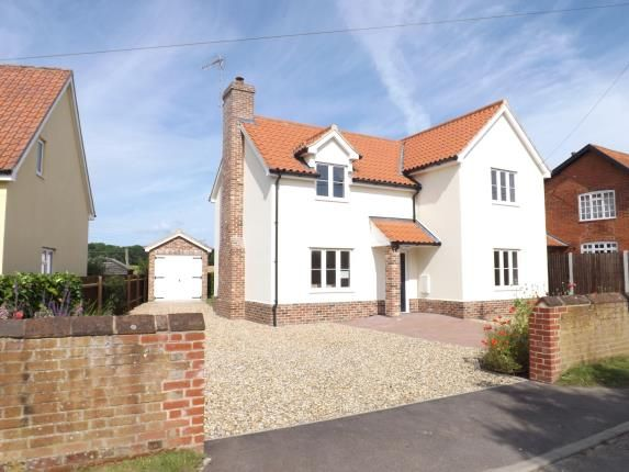 Thumbnail Detached house for sale in Hintlesham, Ipswich, Suffolk