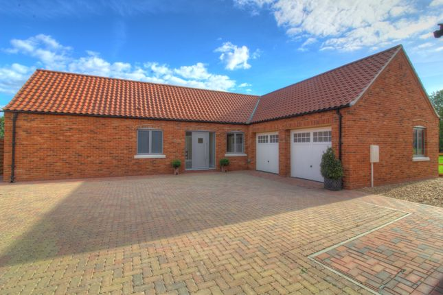 Thumbnail Detached bungalow for sale in Hawksworth Road, Screveton, Nottingham