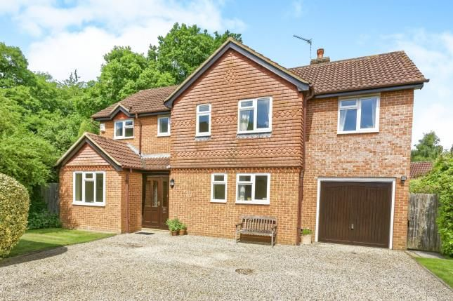 Thumbnail Detached house for sale in Church Crookham, Fleet, Hampshire