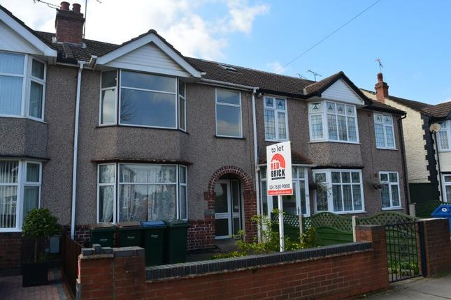 Thumbnail Terraced house to rent in Westhill Road, Coundon, Coventry
