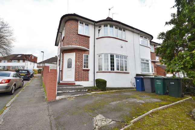 Thumbnail Semi-detached house for sale in Hampden Way, Southgate