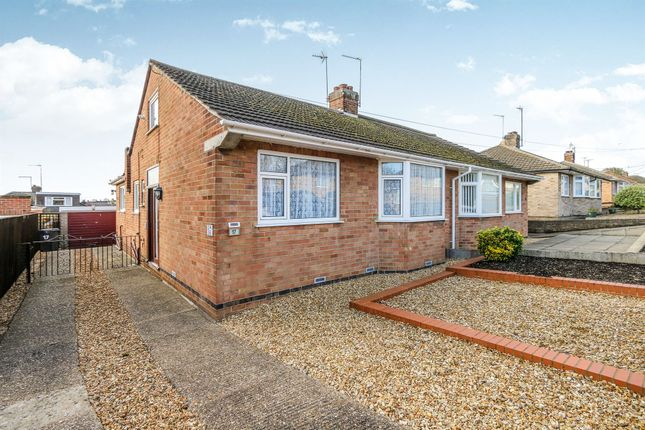 Thumbnail Semi-detached bungalow for sale in Knightlands Road, Irthlingborough, Wellingborough
