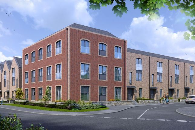 Thumbnail Town house for sale in Plot 2, Hayford Mills, Cambusbarron