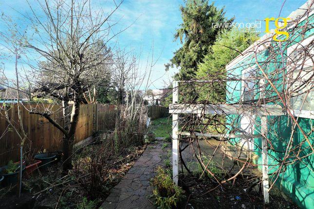 Garden of Chapman Crescent, Harrow HA3
