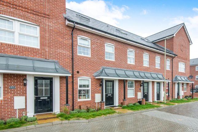 Thumbnail Terraced house to rent in Ashton Gardens, Eastleigh