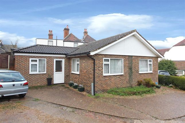 Thumbnail Detached bungalow for sale in Old Saltwood Lane, Saltwood, Hythe