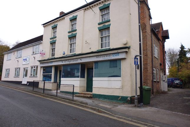 Thumbnail Studio to rent in Room 6 High Street, Madeley, Telford