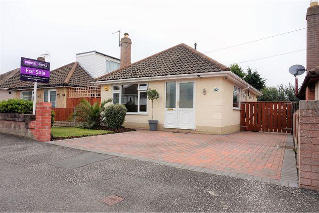 Thumbnail Detached bungalow for sale in Frances Avenue, Rhyl