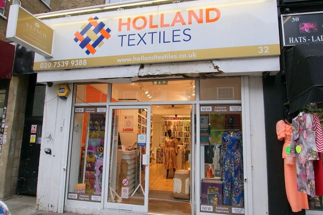 Thumbnail Retail premises to let in Wentworth Street, London