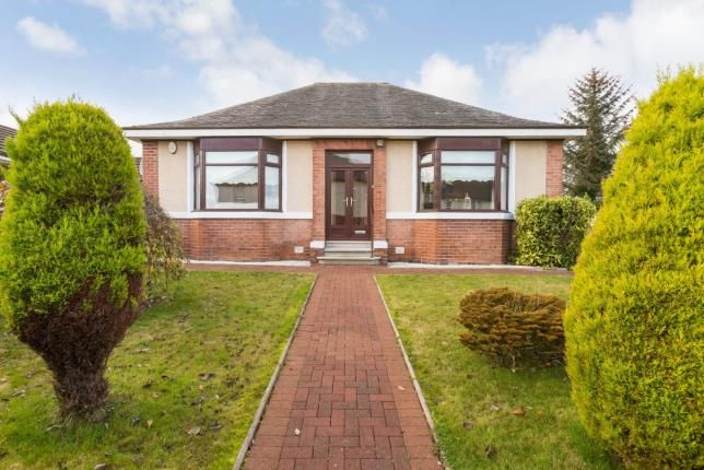 Thumbnail Bungalow for sale in Meikle Earnock Road, Hamilton, South Lanarkshire