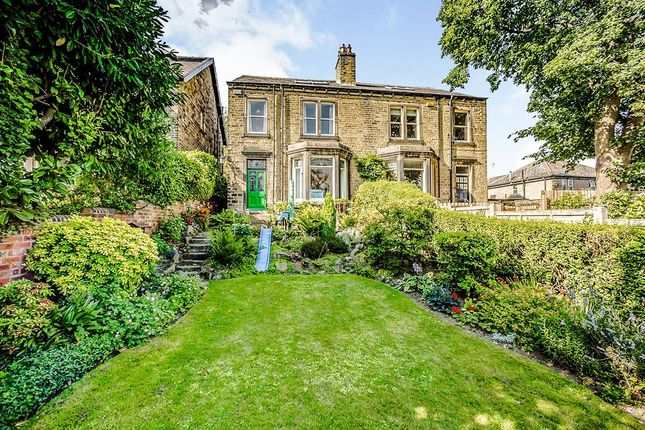 Thumbnail Semi-detached house for sale in Birkby Hall Road, Birkby, Huddersfield, West Yorkshire