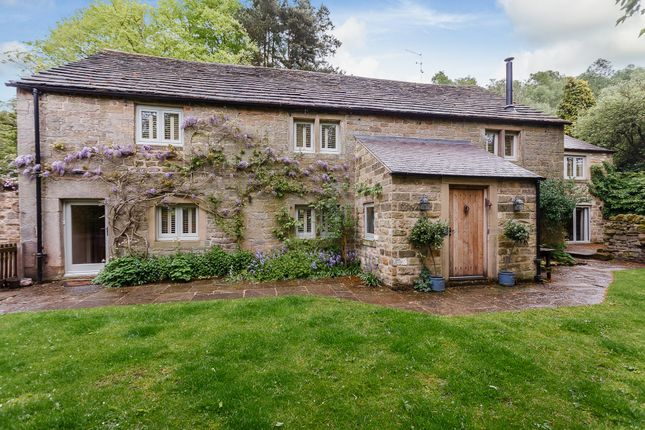 Thumbnail Farmhouse for sale in Old Brampton Road, Baslow, Bakewell