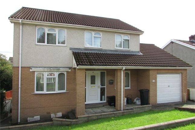 Thumbnail Detached house for sale in Burrows Road, Skewen, Neath, West Glamorgan