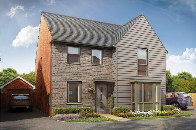 "Thumbnail Detached house for sale in ""Holden"" at East Walk, Yate, Bristol"