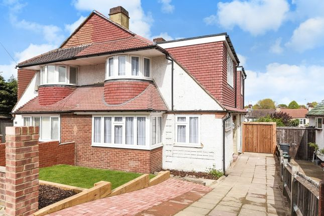 Thumbnail Semi-detached house for sale in Treewall Gardens, Bromley