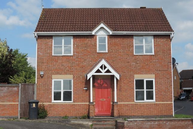 Thumbnail Detached house to rent in Mallow Close, Hamilton, Leicester