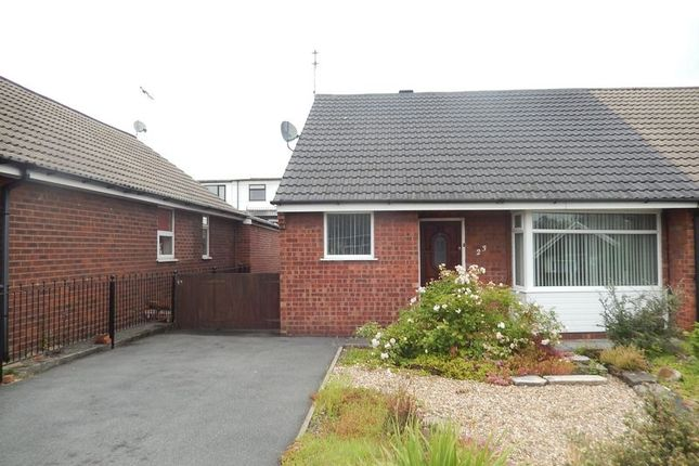 Thumbnail Semi-detached bungalow to rent in Sandra Drive, Newton-Le-Willows
