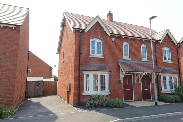 Thumbnail Semi-detached house for sale in Gloster Road, Lutterworth