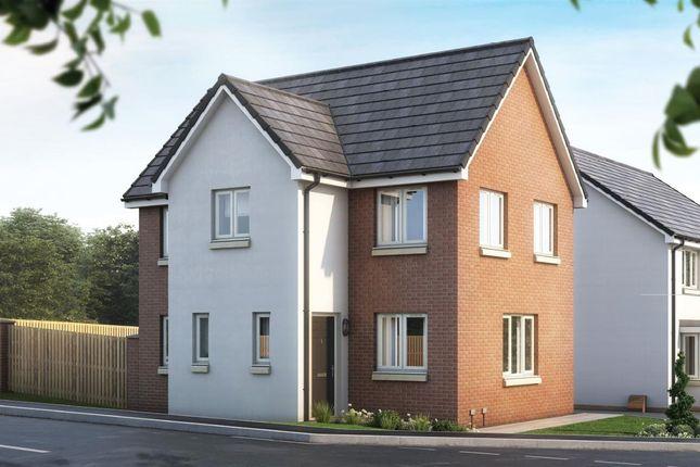 Thumbnail Semi-detached house for sale in The Castings, Meadowhead Road, Ravenscraig, The Fyvie, Ravenscraig, Wishaw