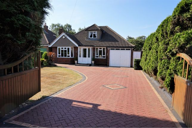 Thumbnail Detached bungalow for sale in Hardwick Road, Sutton Coldfield