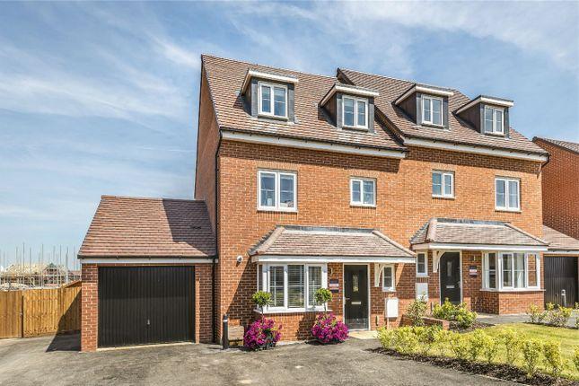 Thumbnail Town house for sale in The Blunham, Manor House Park, Biddenham