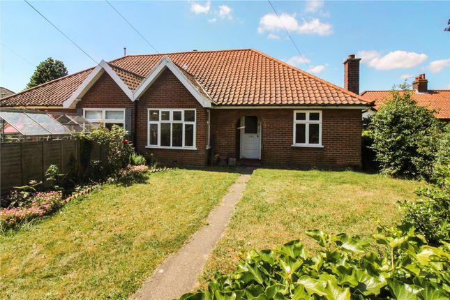 Thumbnail Semi-detached bungalow for sale in Brian Avenue, Norwich