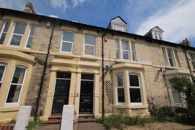 Thumbnail Terraced house to rent in Devonshire Place, Jesmond, Newcastle Upon Tyne