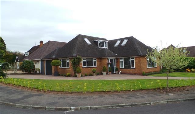 Thumbnail Bungalow for sale in Midgley Drive, Four Oaks, Sutton Coldfield