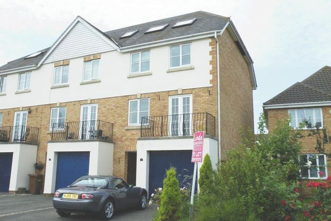Thumbnail Town house for sale in Willowherb Close, St Marys Island