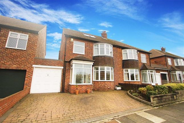 Thumbnail Semi-detached house to rent in Westley Avenue, Whitley Bay, Tyne And Wear