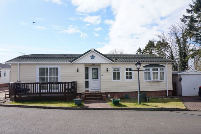 Thumbnail Mobile/park home for sale in Cunninghamhead, Kilmarnock