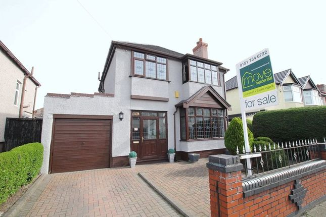Thumbnail Detached house for sale in Reedale Road, Mossley Hill, Liverpool