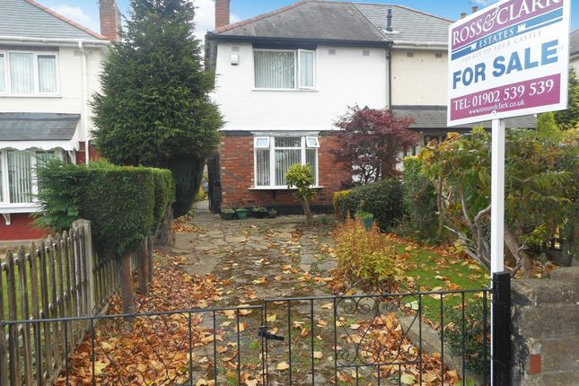 Thumbnail Semi-detached house for sale in Three Tuns Lane, Fordhouses, Wolverhampton