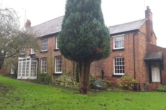 Thumbnail Farmhouse for sale in Dee Side, Holt, Wrexham