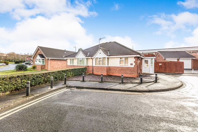 Thumbnail Semi-detached bungalow for sale in Church View Drive, Cradley Heath