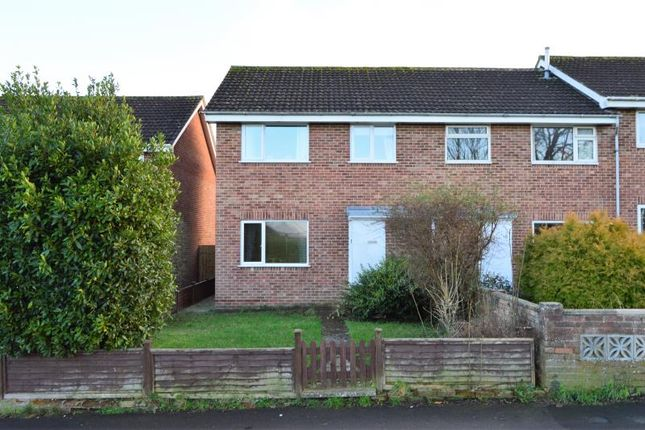 Thumbnail End terrace house for sale in Bramble Park, Taunton, Somerset
