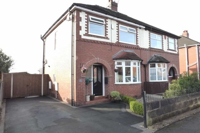 3 bed semi-detached house for sale in Sparch Avenue, May Bank, Newcastle-Under-Lyme
