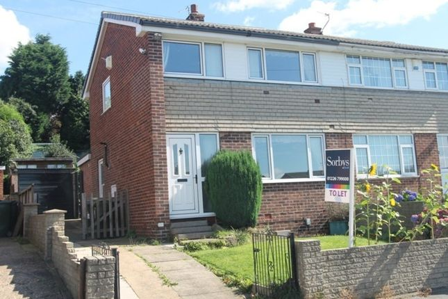 Thumbnail Semi-detached house to rent in Shelley Drive, Monk Bretton, Barnsley