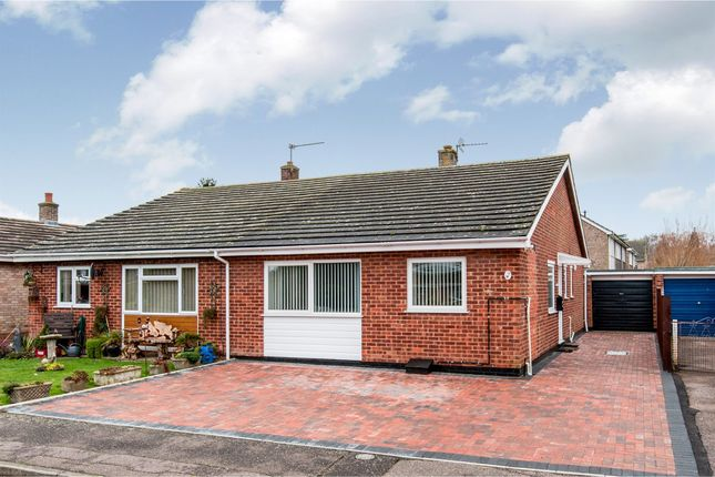 Thumbnail Semi-detached bungalow for sale in Copeman Road, Roydon, Diss