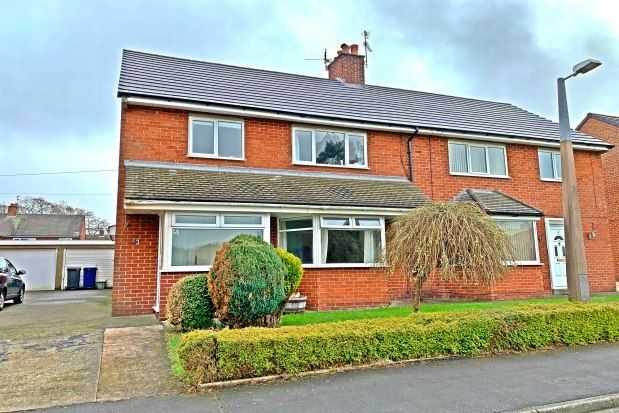 Thumbnail Semi-detached house to rent in Lindle Avenue, Preston