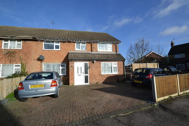 Thumbnail Semi-detached house for sale in Britannia Way, Stanwell, Staines